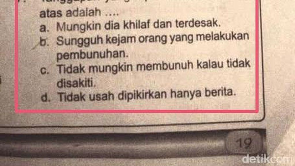 LKS SD dengan Kalimat yang Dianggap Sadis Dikeluhkan Wali Murid