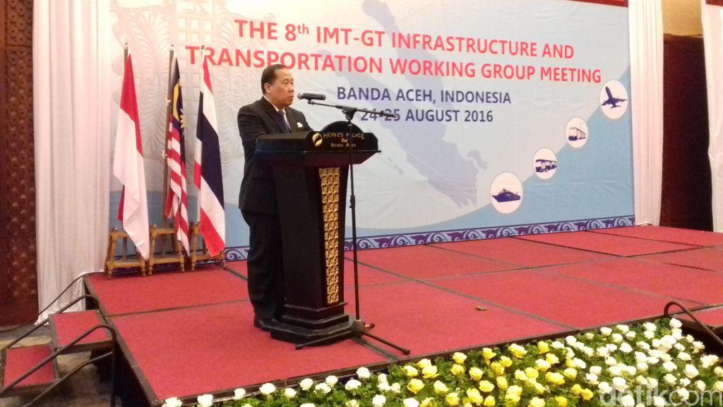RI-Malaysia-Thailand Bahas Rute Kapal Penyeberangan 3 Negara di Aceh