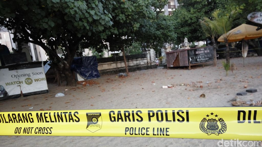Cekungan Pasir di Pantai Kuta, Saksi Bisu Pembunuhan Aipda Wayan Sudarsa