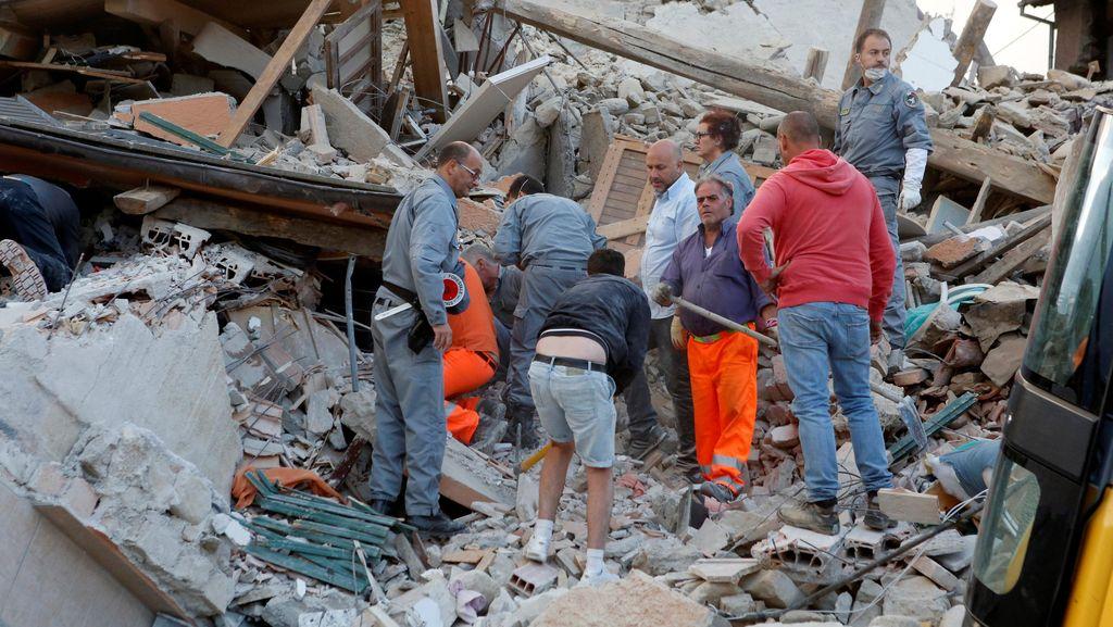 Gempa Guncang Italia, 6 Orang Tewas