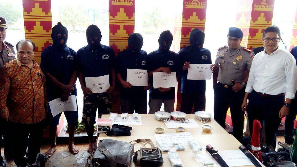 KKP Ungkap Kasus Perompakan Nelayan Rajungan di Perairan Lampung