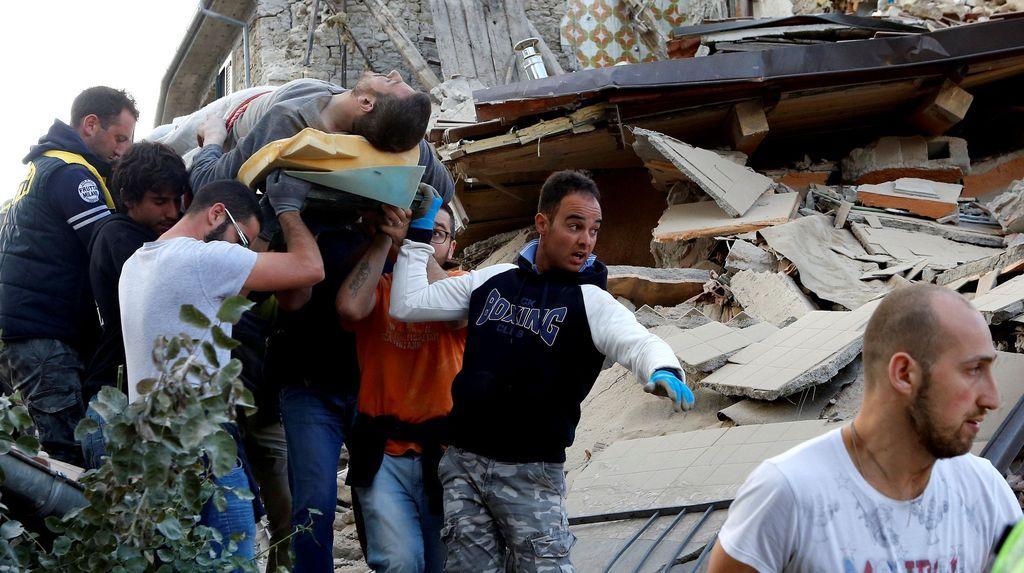 Korban Jiwa Akibat Gempa di Italia Terus Bertambah, Kini Jadi 159 Orang