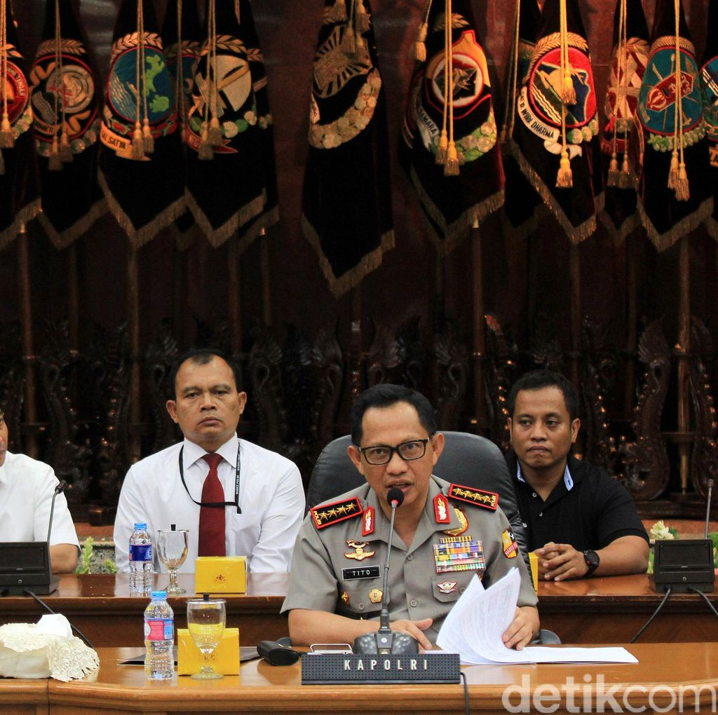 Soal Penghentian Penyidikan Kasus Kebakaran Hutan 15 Perusahaan, Kapolri: Tunggu Besok
