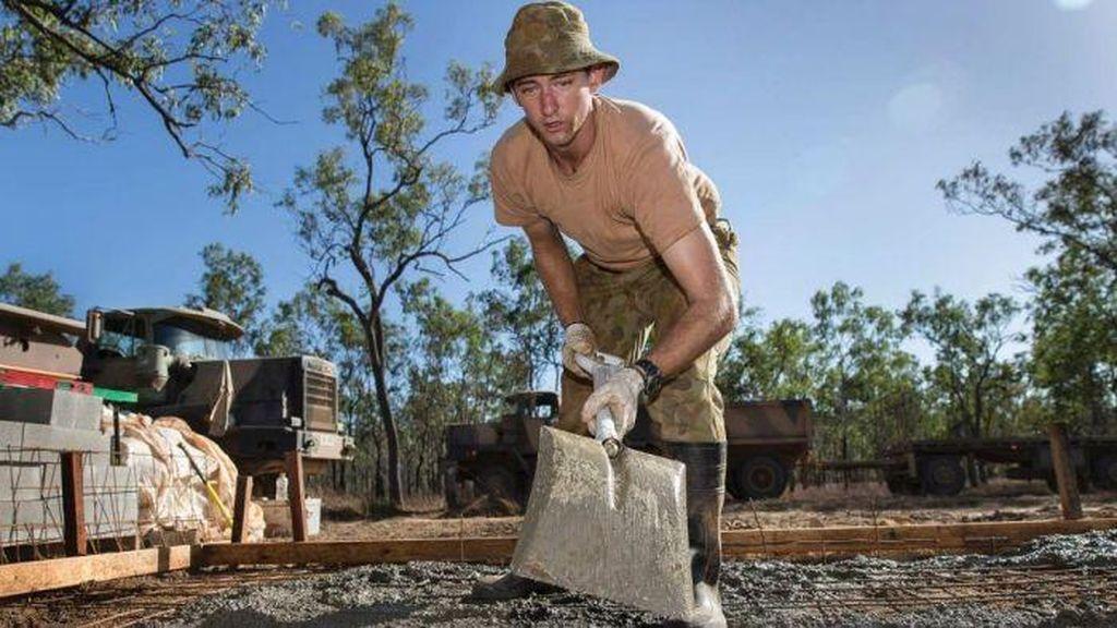 Tentara Australia Juga Laksanakan Program Masuk Desa