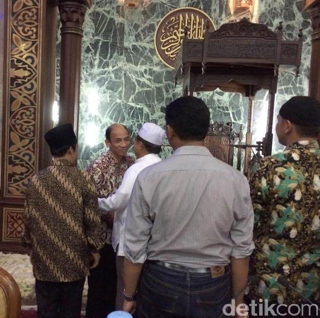 Arcandra Tahar Bertemu Wapres JK di Masjid Sunda Kelapa