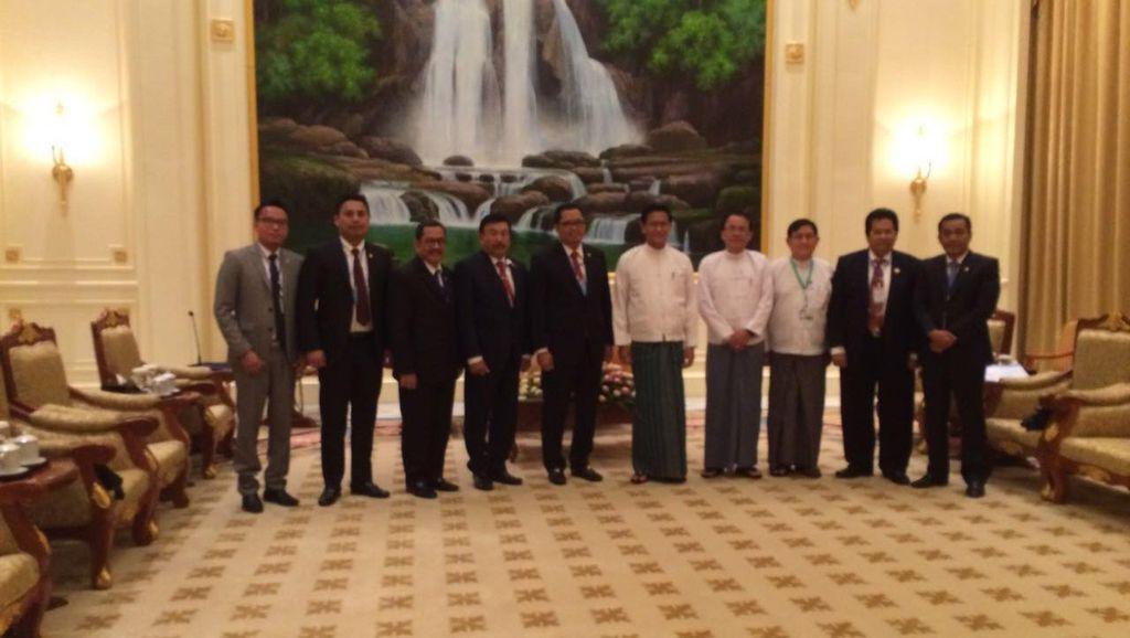 Dikunjungi MPR, Myanmar Berharap Investasi Indonesia Capai 1 M USD