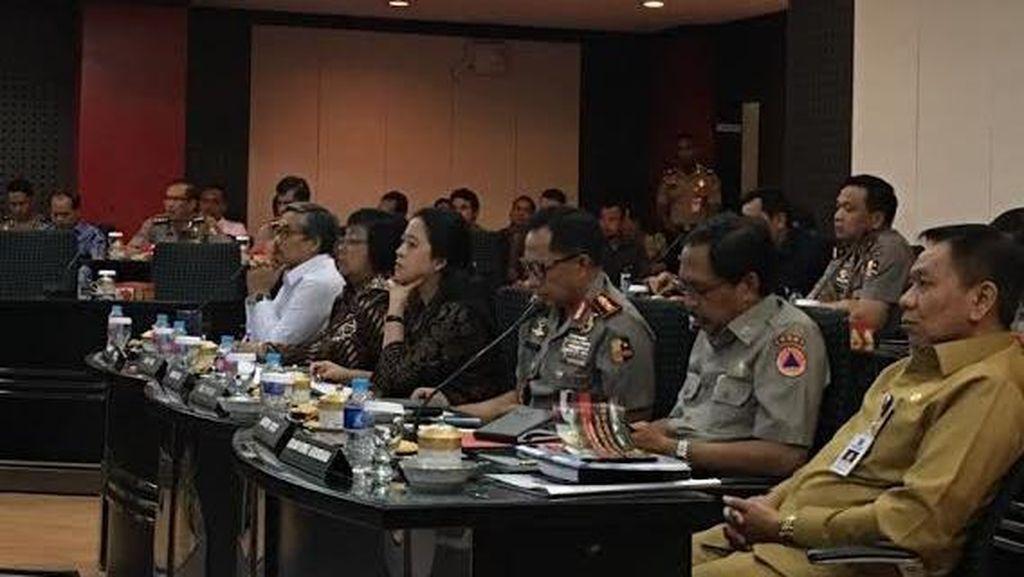 Jenderal Tito, Puan Maharani, dan Siti Nurbaya Gelar Rapat Bahas Kebakaran Hutan