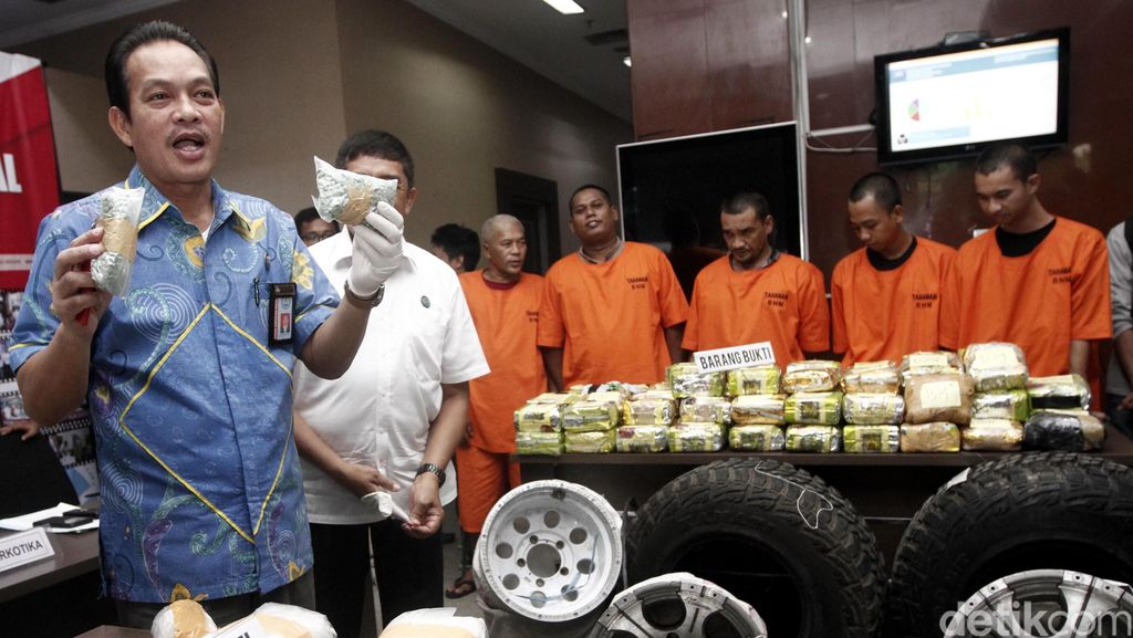 BNN Ungkap Penyelundupan Narkotika