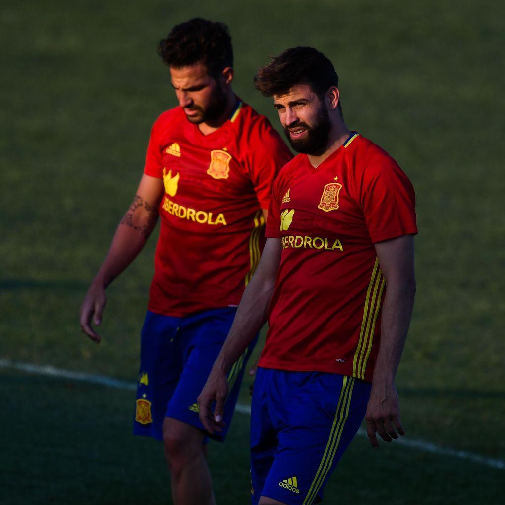 Andai Fabregas ke Madrid, Pique: Kami Tetap Akan Berteman