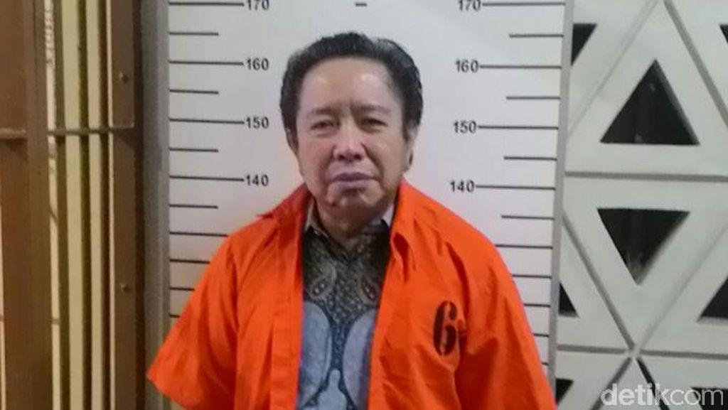 Resmi Ditahan, Ini Penampakan Harry Lo Tersangka Kasus UPS di Bareskrim