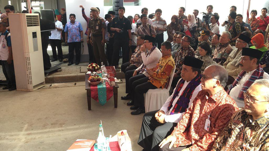 Didampingi Saefullah, Ahok Luncurkan TPAKD di Rusun Pesakih Daan Mogot