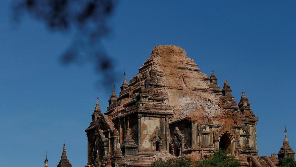 Jaga 187 Pagoda Rusak Imbas Gempa, Myanmar Kerahkan Polisi dan Tentara
