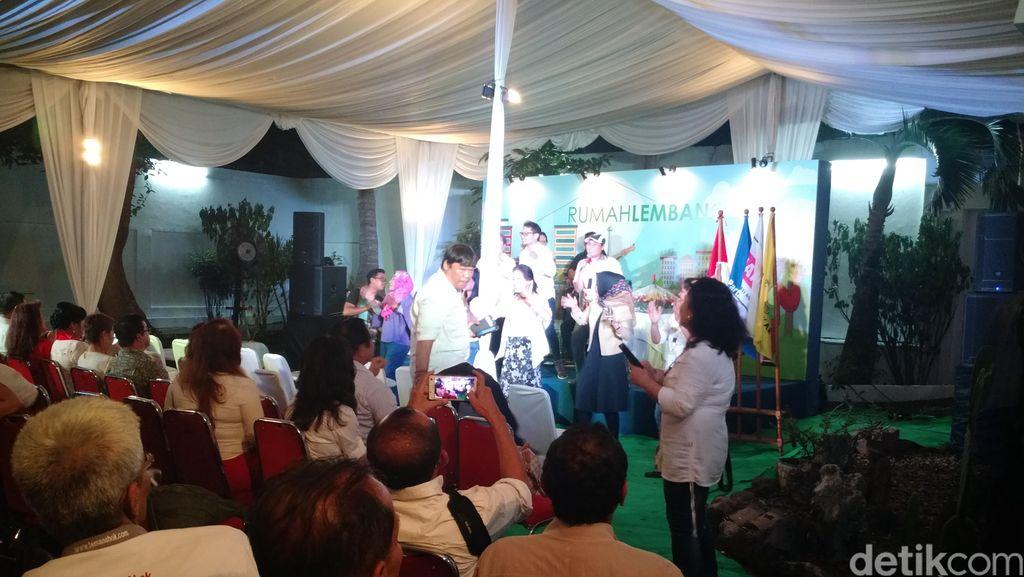 Ini Rumah Lembang Posko Pemenangan Ahok, Tak Jauh dari Rumah Megawati