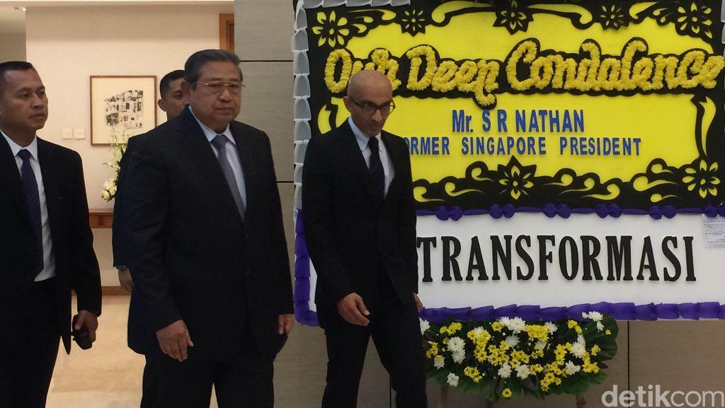 SBY: Presiden Nathan Tokoh Besar untuk Singapura