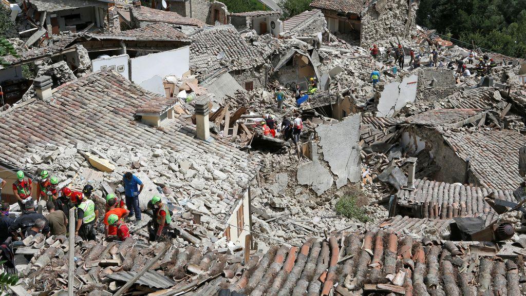 Analisa Gempa di Italia yang Menewaskan 159 Orang: Mirip Gempa Bantul