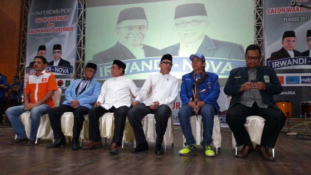 Usung Irwandi-Nova di Pilgub Aceh, PD Gandeng PKB dan 2 Partai Lokal