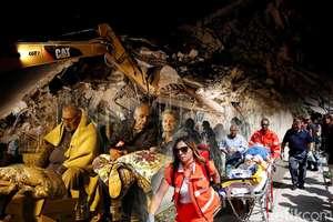 Gempa Hebat di Italia