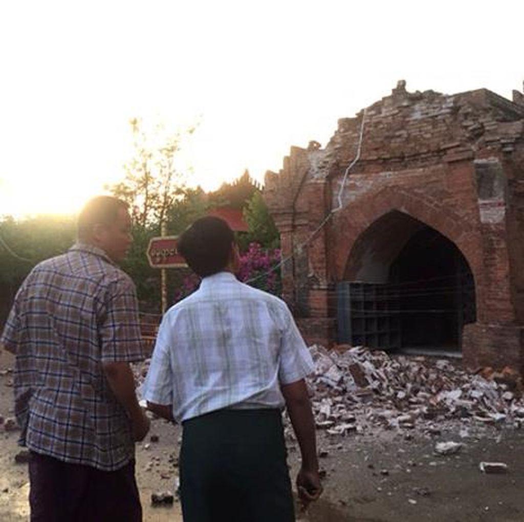 Korban Tewas Gempa 6,8 SR di Myanmar Termasuk 2 Bocah Tertimpa Pagoda