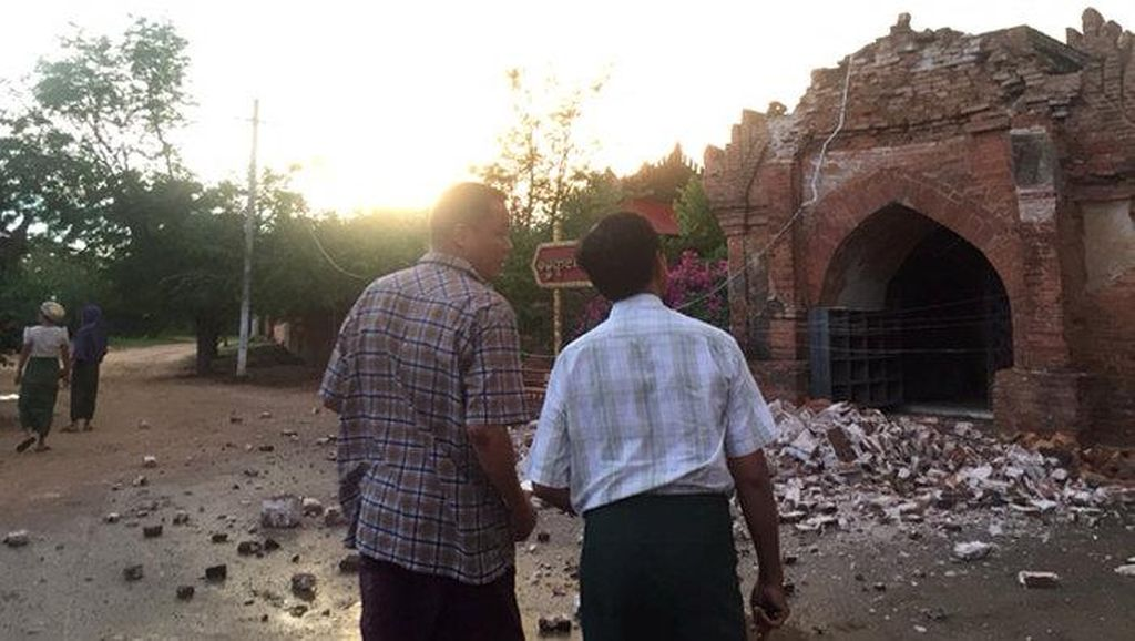 Ini Analisis BMKG Soal Gempa Bumi 6,8 SR yang Guncang Myanmar