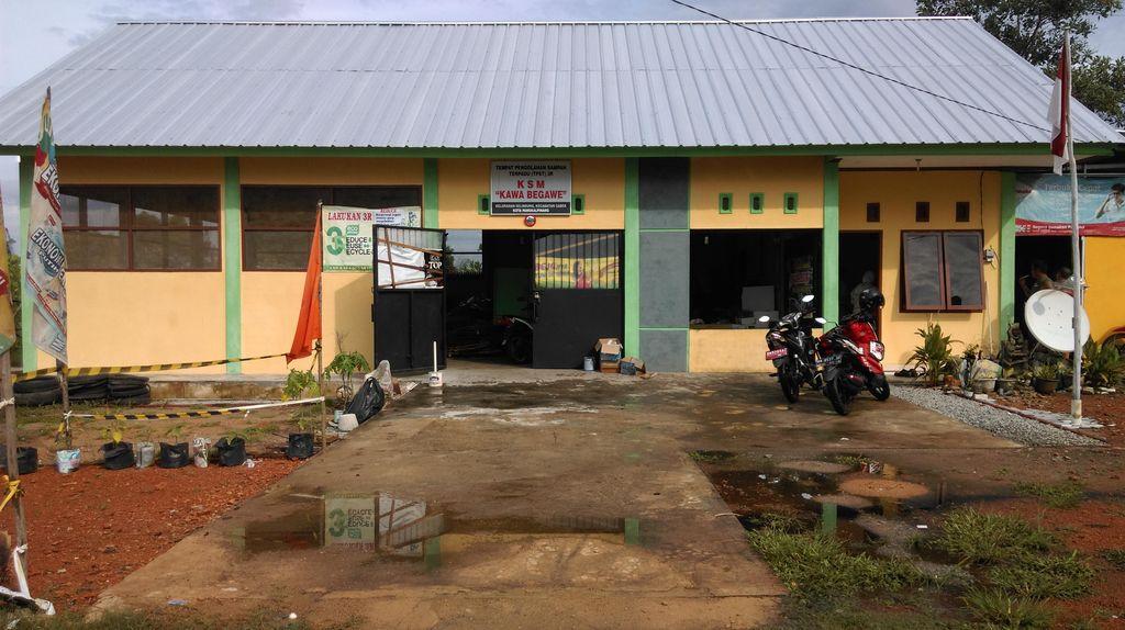 TPST di Pangkalpinang, Bersih Tanpa Lalat dan Mampu Hasilkan Pupuk Kompos