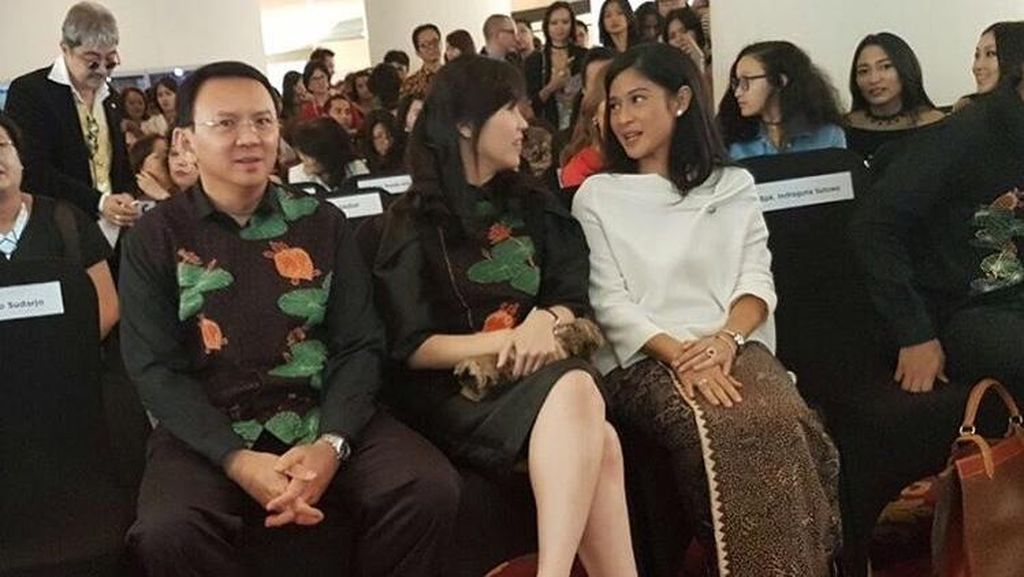 Kelakar Ahok Sebut Istrinya Rayu Dian Sastro Jadi Pendamping di Pilgub DKI