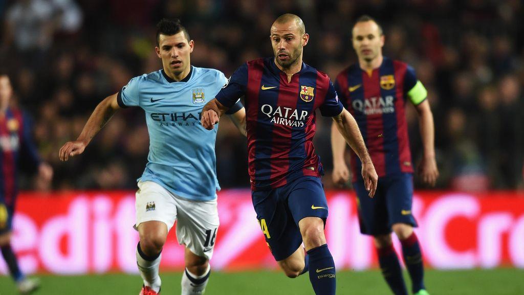 City dan Guardiola Punya Rekor Buruk atas Barcelona