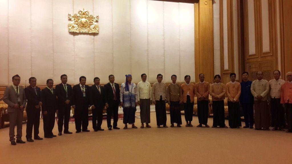 Myanmar Ingin Belajar Demokrasi, Sudding Soroti Soal Kebebasan Pers dan HAM
