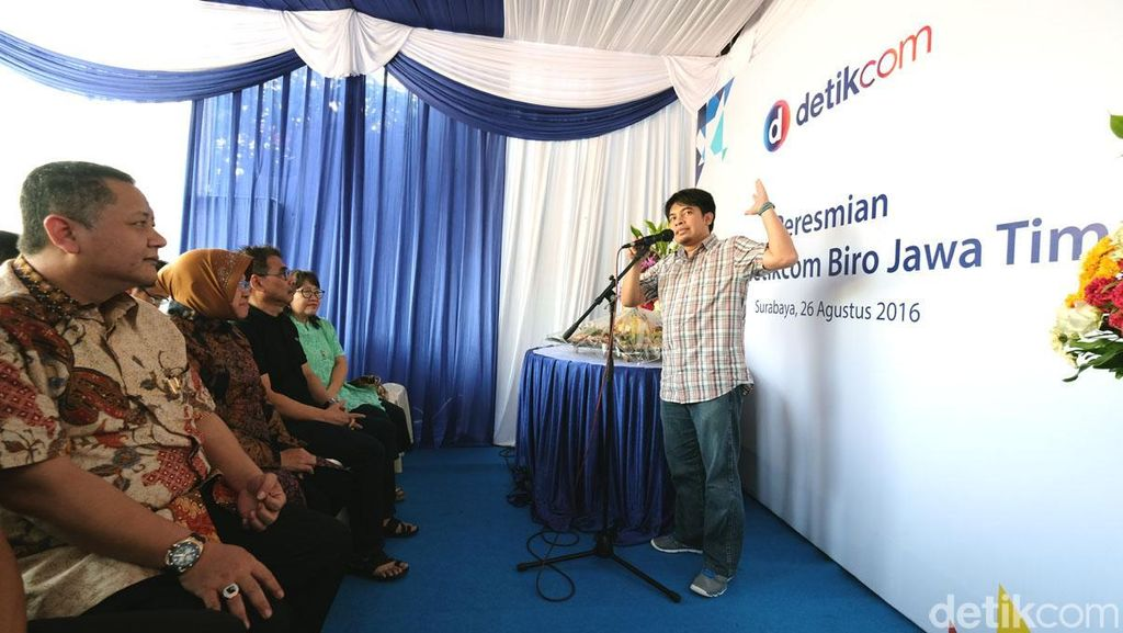 Detikcom Biro Jawa Timur Punya Rumah Baru