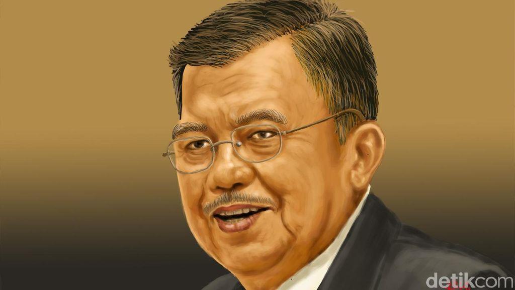 Wapres JK Soal Gagasan Sekolah Parlemen Ketua DPR: Nggak Perlu