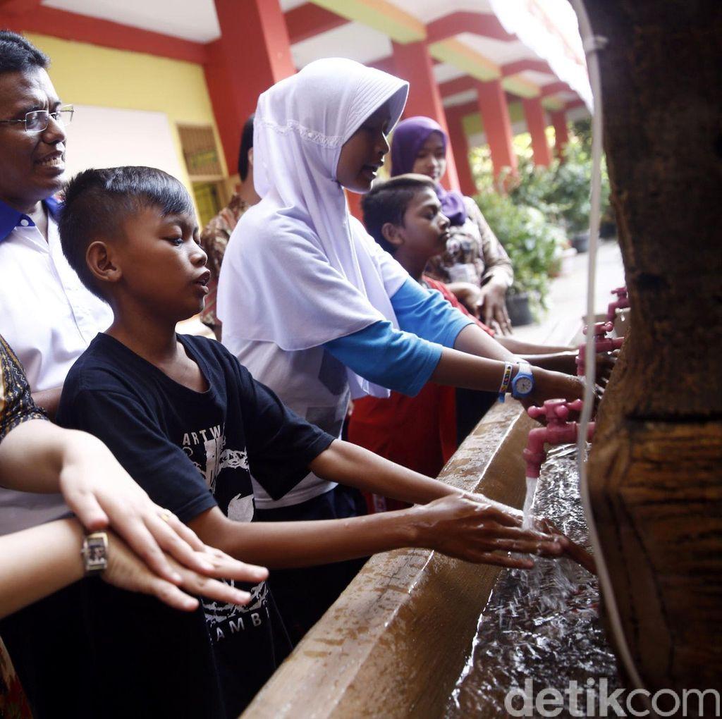 Edukasi Kesehatan Anak di Muara Angke