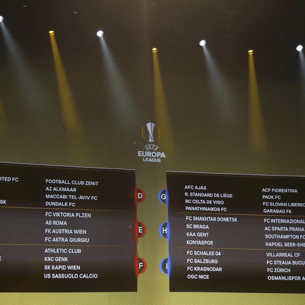 Soal Hasil <I>Drawing</I> Grup Liga Europa, Mourinho: Seperti Liga Champions