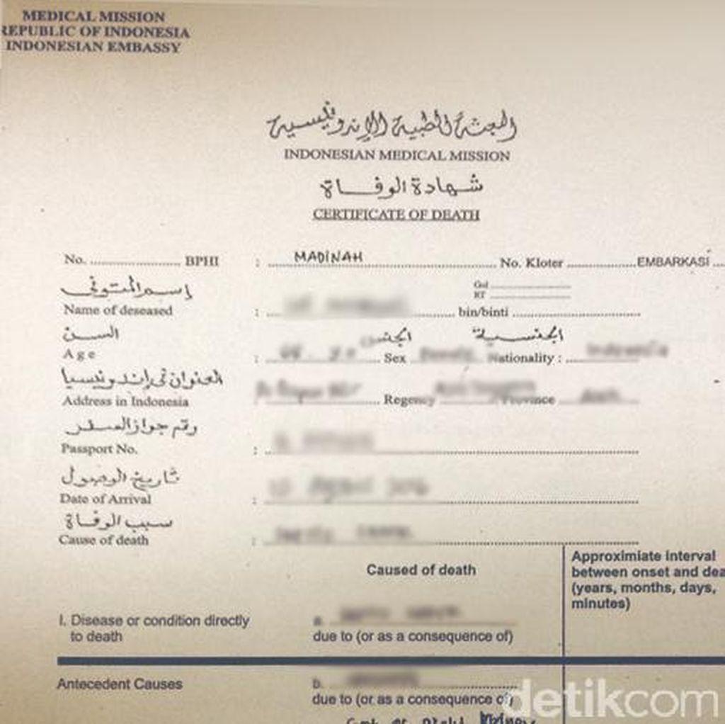 Data 33 Jemaah Wafat di Saudi sampai 28 Agustus