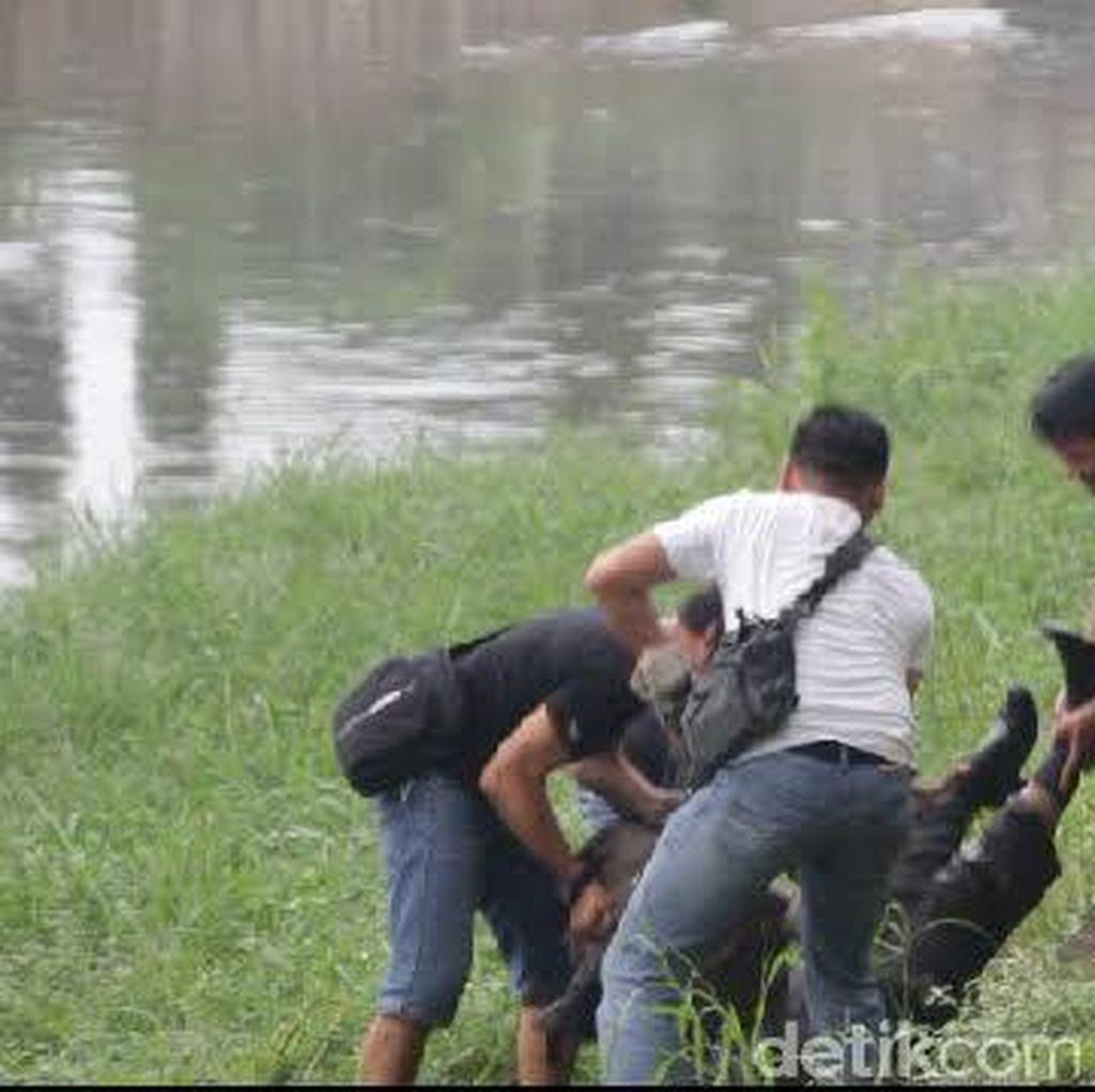 Dar Der Dor di Cipinang Muara, Ternyata Polisi Kejar Penjahat Kempis Ban