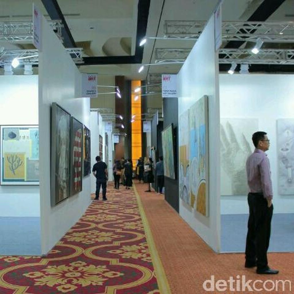 Bazaar Art Jakarta 2016: Dari Live Painting hingga Neo Wayang