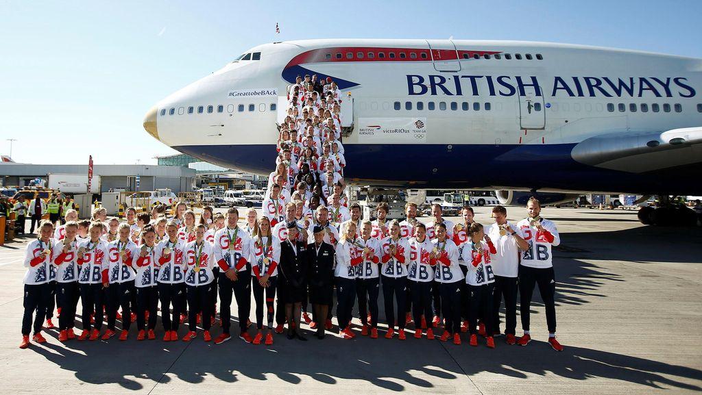 Tas-Tas Identik yang Sulitkan Olimpian Inggris