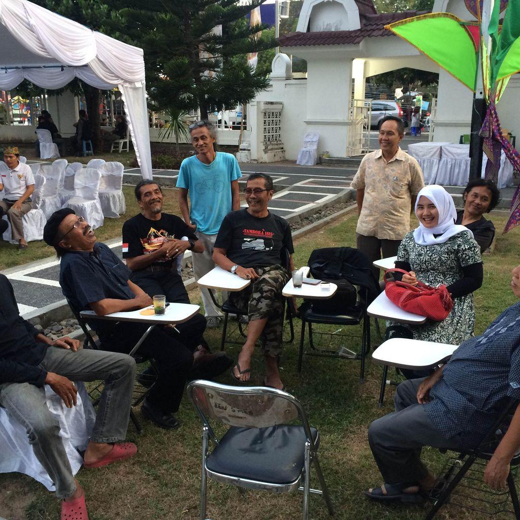 Mengenal Para Pelukis di Gelar Seni Rupa Bulan Budaya Lombok