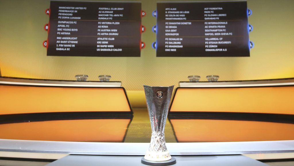 Hasil Lengkap Matchday II Liga Europa