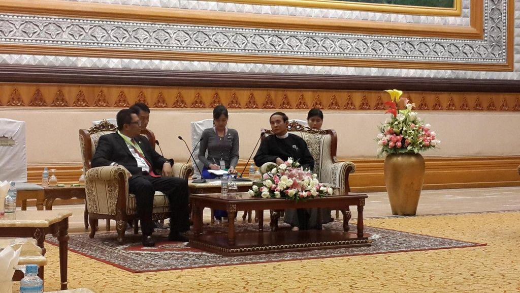 Parlemen Myanmar Ingin Belajar Demokrasi dari RI, MPR Siap Fasilitasi