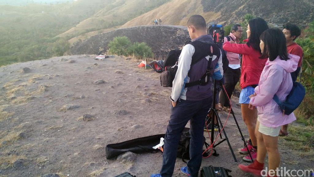 Syuting Labuan Hati Hari Pertama, Indahnya Matahari Terbit di Labuan Bajo