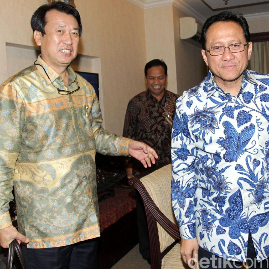 Ketua DPD Bertemu Korindo, GAPKI dan APHI
