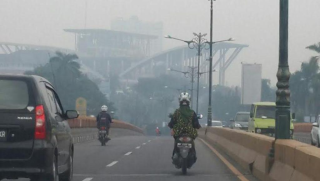 Kebakaran Lahan di Riau, Kota Pekanbaru Kini Dikepung Asap