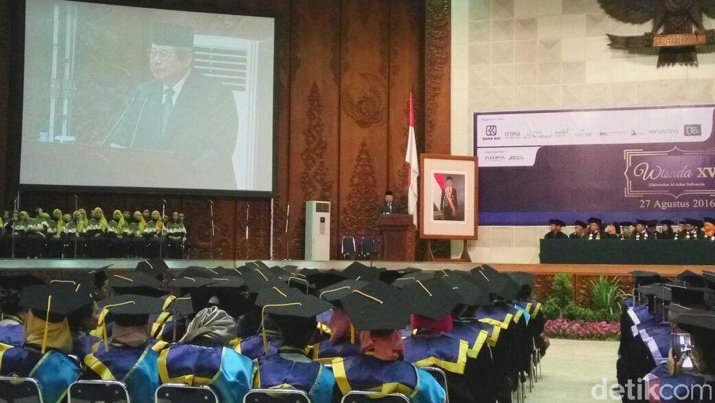 Pidato di Universitas Al Azhar, SBY Bicara Soal Kemaritiman