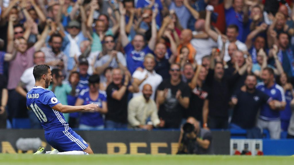 Hazard Bakal Lebih Menentukan Lagi untuk Chelsea