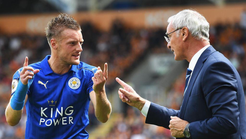 Vardy Masih Melempem, Ranieri Tidak Khawatir