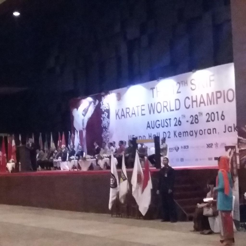 Wapres Jusuf Kalla Buka Kejuaraan Dunia Karate di Jakarta