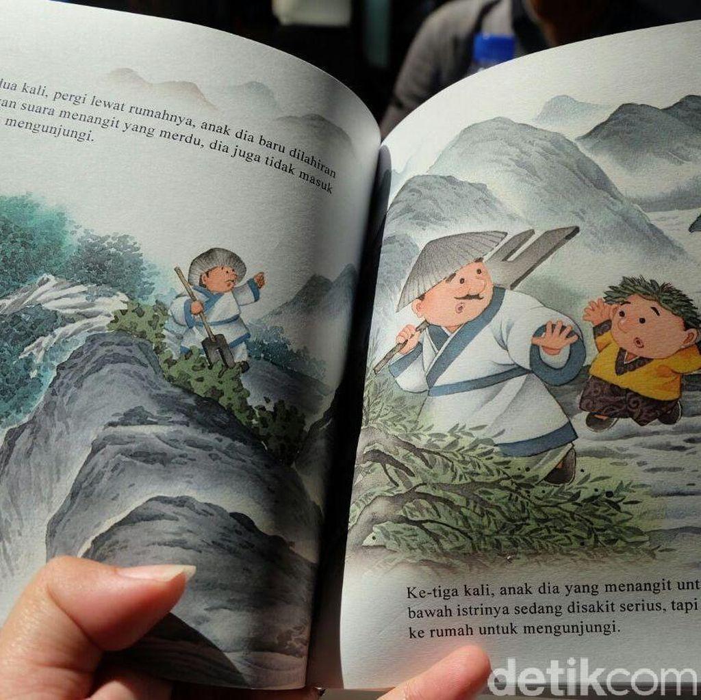 Logo dan Nama Kesaint Blanc Dipakai Tanpa Izin untuk Buku Terjemahan di Tiongkok