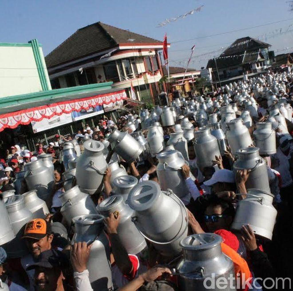 Serunya Festival Nongkojajar 2016 di Kabupaten Pasuruan
