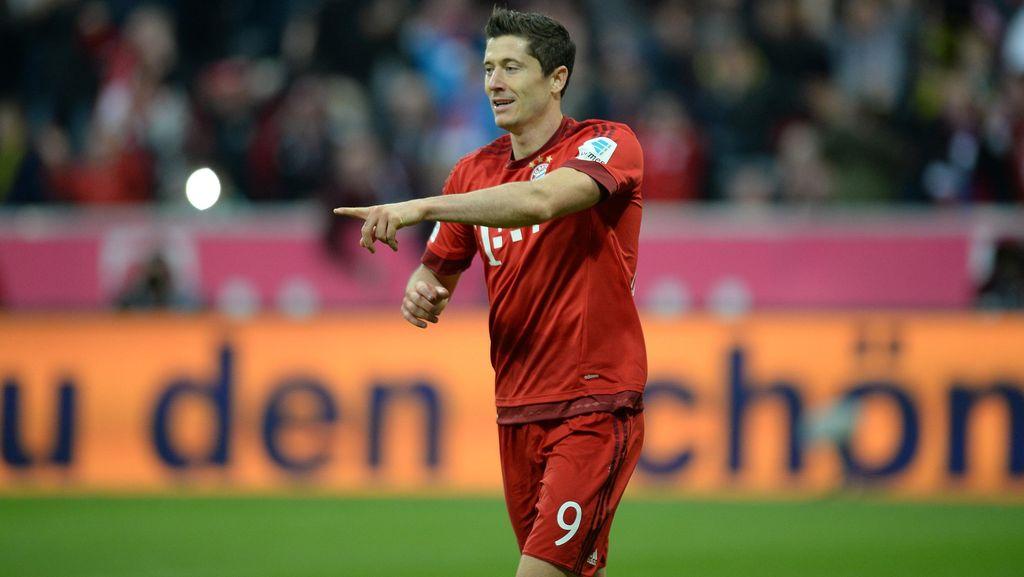 Lewandowski Targetkan Minimal 20 Gol