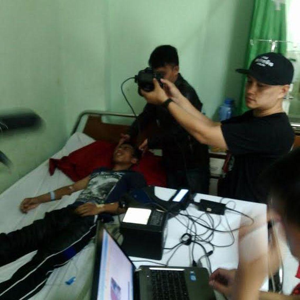 Di Sukabumi, Disdukcapil Blusukan Masuk ke Rumah Sakit Rekam Data e-KTP Warga
