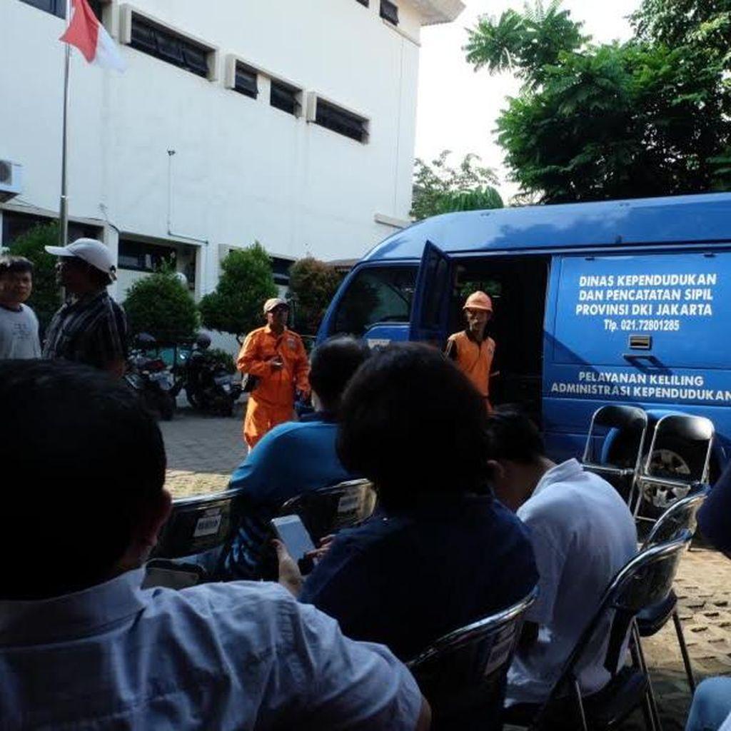 e-KTP Mobile di Kelurahan Mampang Juga Layani Seluruh Warga Jakarta Selatan